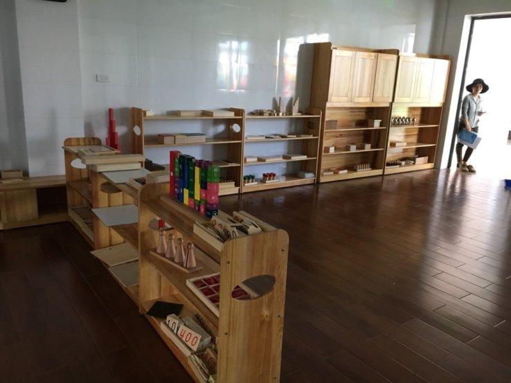 đồ gỗ cho trường học mầm non