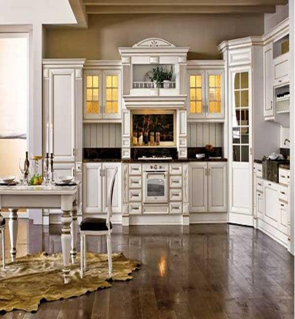 Những mẫu tủ bếp tân cổ điển đẹp nhất năm 2020