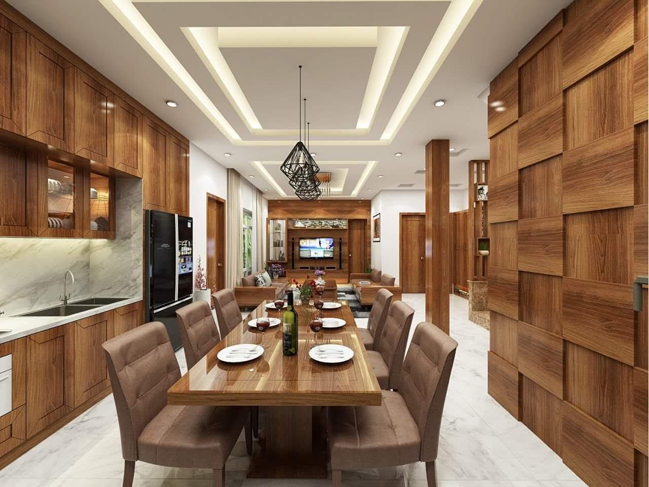 Thiết kế nội thất gỗ tự nhiên - gia tăng giá trị không gian nhà bạn