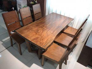 Note 4 lưu ý để bạn có thể sở hữu bộ bàn ăn gỗ hương xám chất lượng