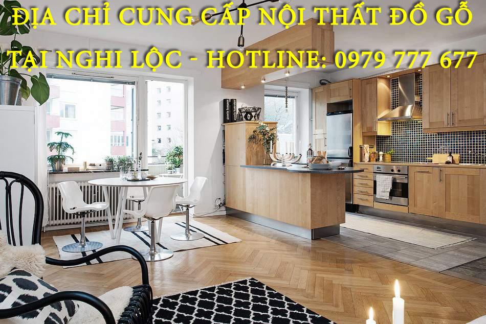 Địa chỉ cung cấp nội thất đồ gỗ tại Nghi Lộc - Hotline: 0979 777 677