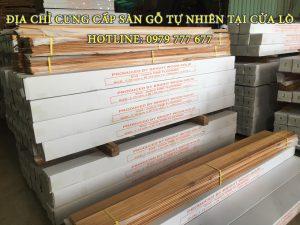 Địa chỉ cung cấp sàn gỗ tự nhiên tại Cửa Lò - Hotline: 0979 777 677