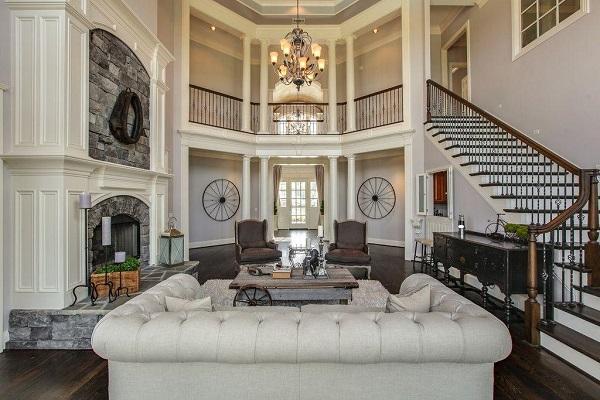 Nội thất nhà ở theo phong cách cổ điển