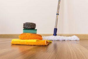 Mẹo vệ sinh sàn gỗ tự nhiên