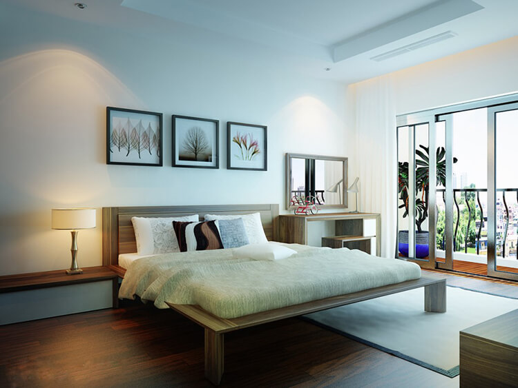 Địa chỉ mua bộ nội thất phòng ngủ gỗ tự nhiên uy tín
